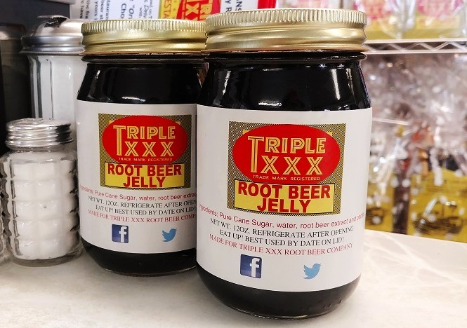 Triple XXX Root Beer Jelly