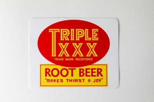 Triple XXX Sticker