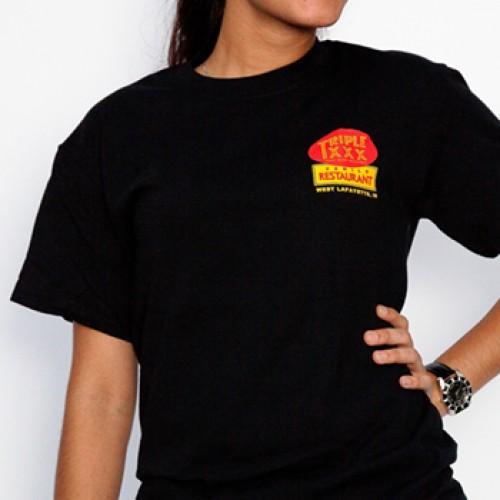 Triple XXX Root Beer Bottle Short Sleeve T-Shirt