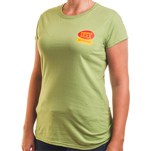Women's Triple XXX Root Beer Bottle Short Sleeve T-Shirt