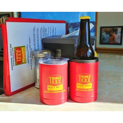 Triple XXX Double-Duty Koozie