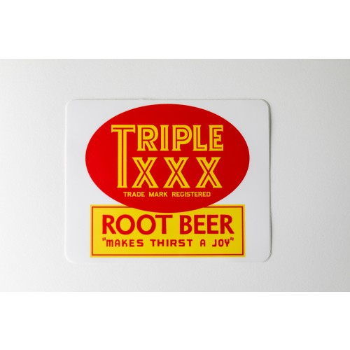 Triple XXX Sticker